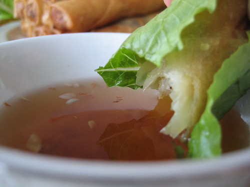 Dipping Egg Roll - Next stop, my mouth! | by Sunday Nite Dinner