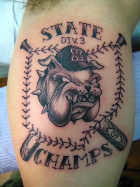 heath bulldogs tattoo