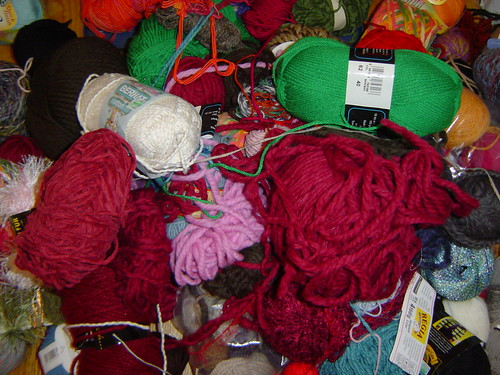 YARNPOCALYPSE! (Charity donation pile) | by kindlingandtinder