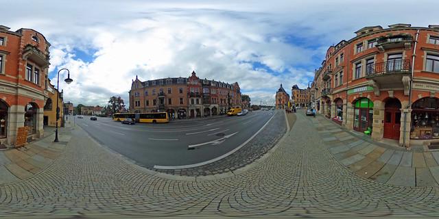 Ricoh Theta S 360 Grad Foto - Dresden, Loschwitz
