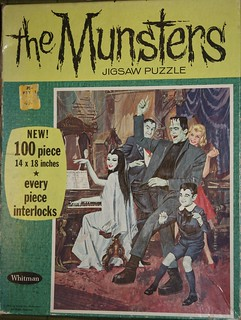 The Munsters Jigsaw Puzzle (Whitman 1965) | by Donald Deveau