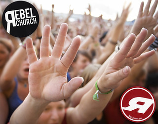 Rebel Church Stickers | by StickerGiant