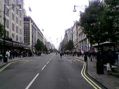 Oxford Street at 11:33 today