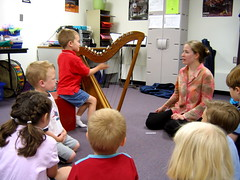 Music class with Miss Emily