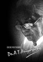 Our Founder - Dr.A.T.Ariyaratne