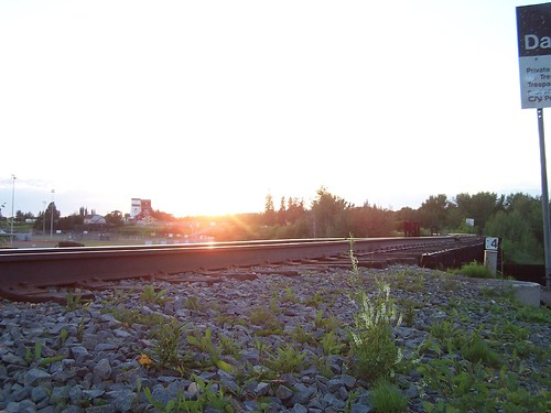 Sunset Rails | by Daveography.ca