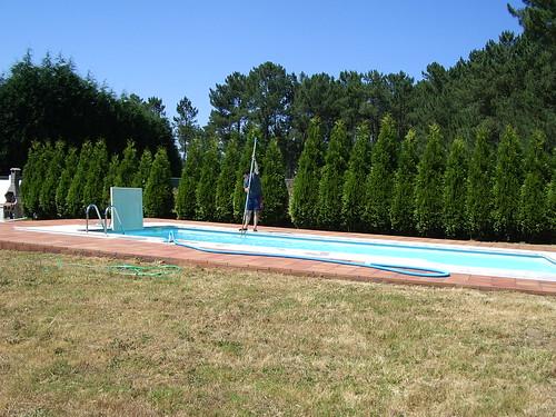 Piscina Julio 2005