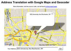 John Resig - Google Address Translation