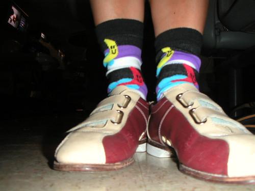 Lucky socks.