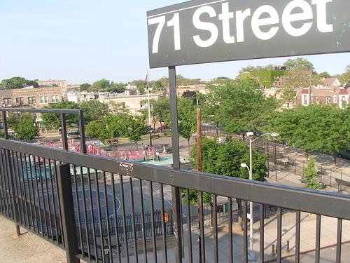 Satellite Park & 71st Street D Stop - Bensonhurst, Brooklyn
