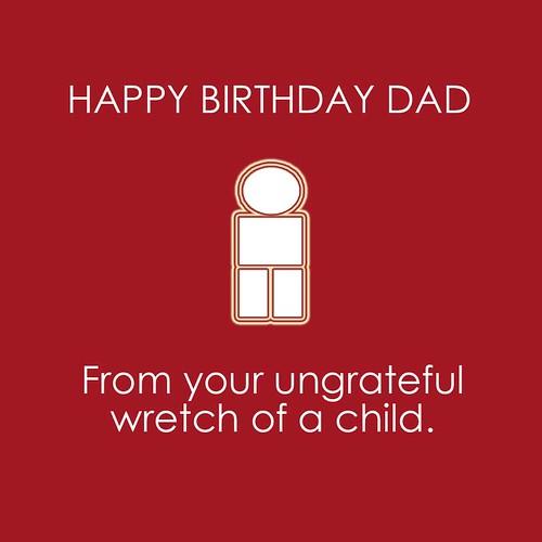 Happy birthday wretch