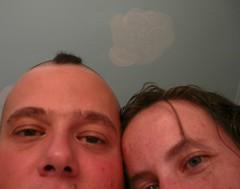 Me and Inga, the night before
