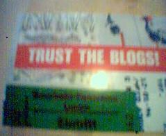 Trust the blogs!