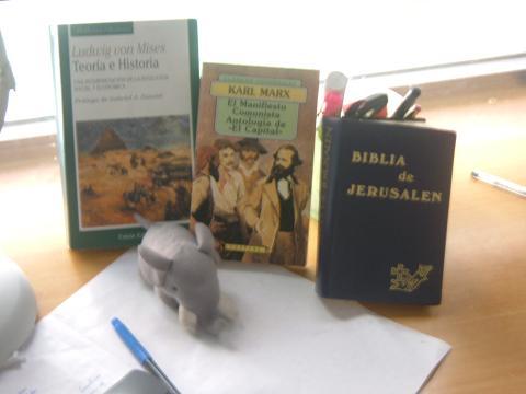 Burrhus prefiere a Mises antes que a Marx o a la Biblia