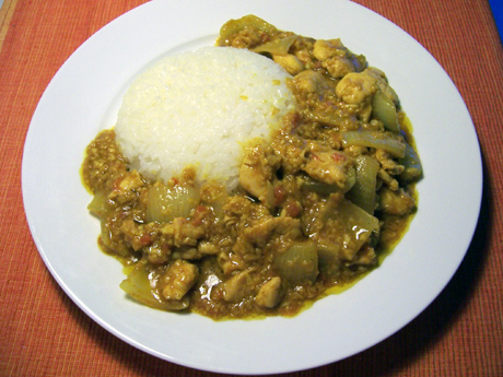 currychickenrice