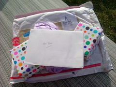 A package from England!