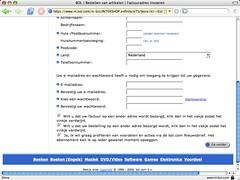 Bol.com's adresformulier