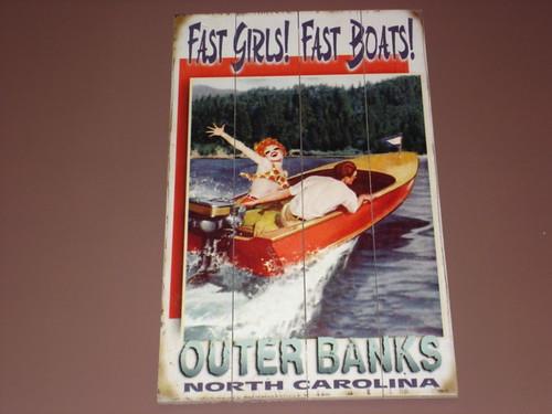 Fast Girls, Fast Boats