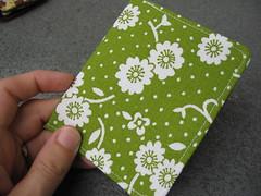 green blossom wallet