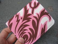 pink floral wallet