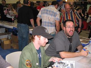 Seth Green and Hugh Sterbakov