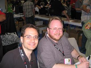 Leonard Kirk and Troy Peteri