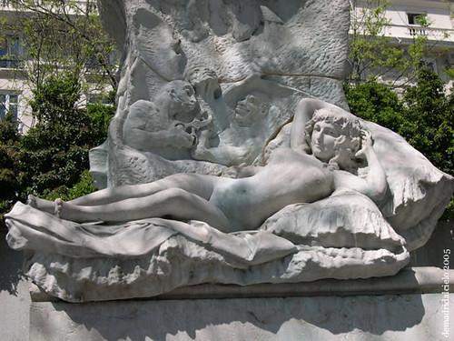 Réplica de la Maja Desnuda, Madrid