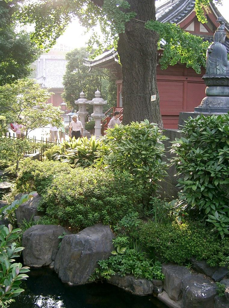 Japanese Garden Near Senso Ji