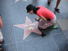 Hollywood Sidewalk Stars - Tom Cruise