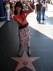 Hollywood Sidewalk Stars - Arnuld Swartz and Anna