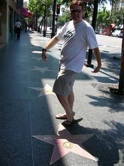 Hollywood Sidewalk Stars - Pee Wee Herman