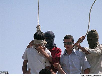 iran hangs gays