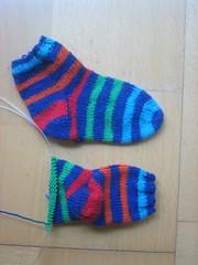 Un calcetín y medio para Jan