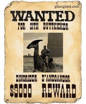 Dinorider wanted