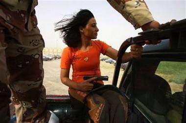 Iraqi gun babe II