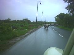 Going out of Panjim, towards Madgaon