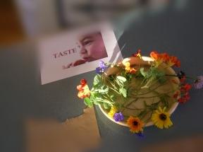 flower tasting