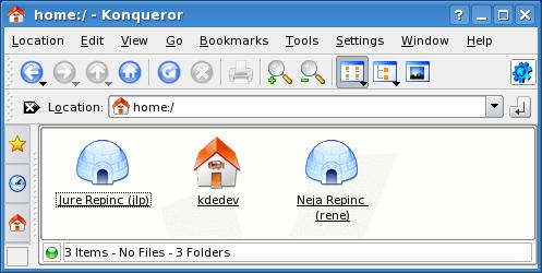 KDE 3.5 Home KIOSlave