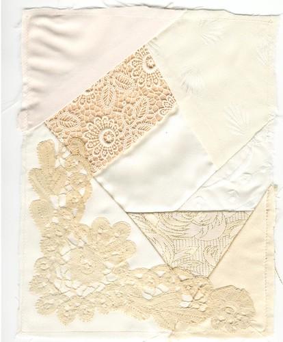 Cream quilt block 002