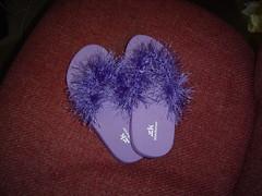 Furry Flip-Flops