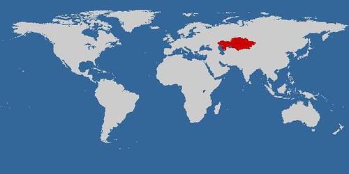Kazajstán en el mundo