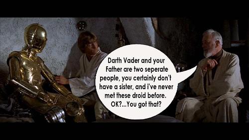 Star Wars fibs