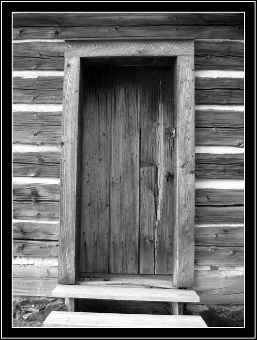 Quaker Meeting House door