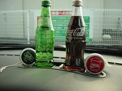 Sprite and Coca Cola