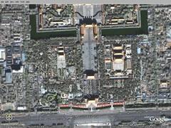beijing via Google Earth Pro