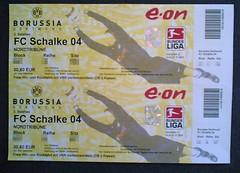 Eintrittskarten BvB-Schalke