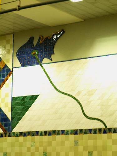 Lisboa, Metro station Bela Vista