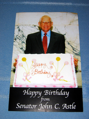 Random birthday well-wishing