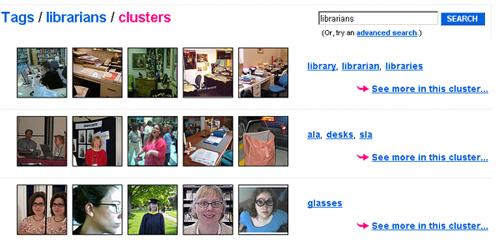 Flickr incorpora el clustering