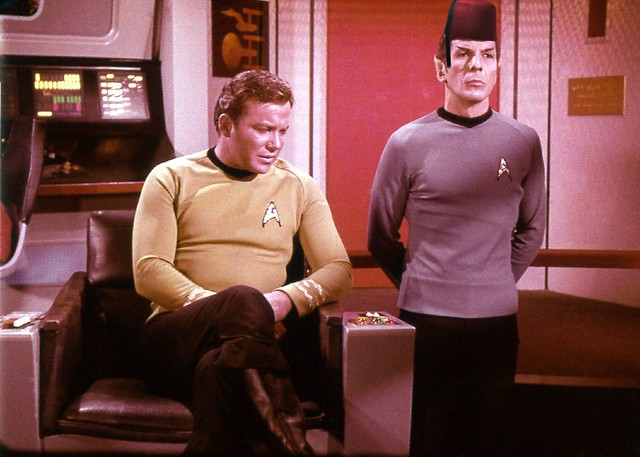 Kirk Talks to Spock about his